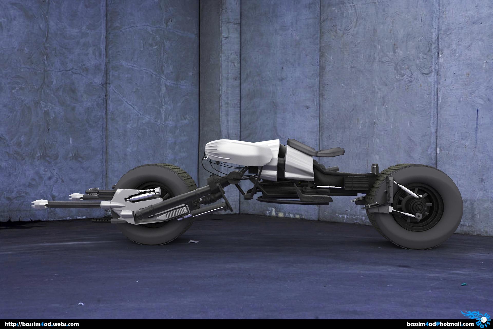:: batman bike ::